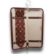 Кожаный чехол для галстука Pratesi Buontalenti
