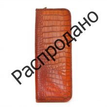 Кожаный чехол для галстука Pratesi Buontalenti Radica