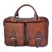 Мягкий кожаный портфель Pratesi Montalcino