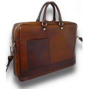 Мягкий кожаный портфель Pratesi Cortona