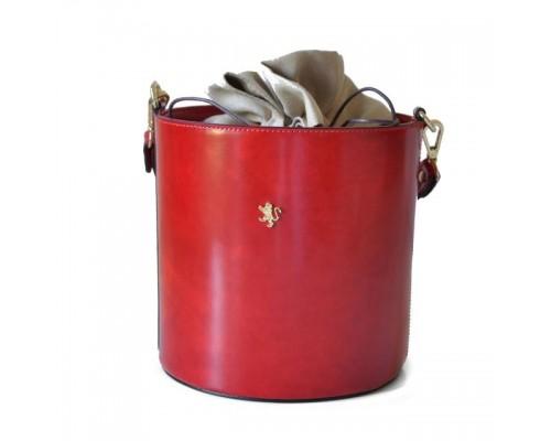 Женская сумка-ведро Pratesi Secchiello Radica