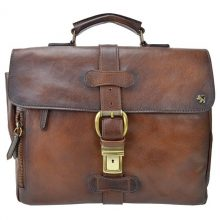 Soft leather briefcase Pratesi Firenze