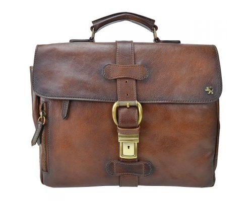 Soft leather briefcase Pratesi Firenze
