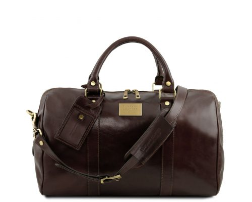 Дорожная кожаная сумка Tuscany Leather TL141250 Voyager Mini