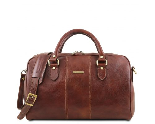 Дорожная кожаная сумка Tuscany Leather TL141658 Lisbona