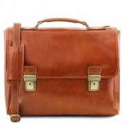 Briefcase Tuscany Leather TL141662 Trieste