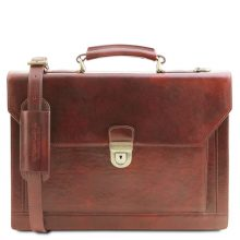 Briefcase Tuscany Leather TL141732 Cremona