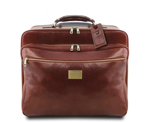 Дорожная кожаная сумка Tuscany Leather TL141888 Varsavia