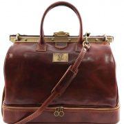 Дорожная кожаная сумка Tuscany Leather TL141185 Barcelona