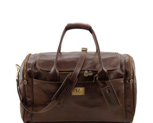 Дорожная кожаная сумка Tuscany Leather TL141281 Voyager