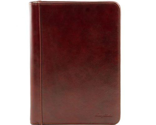 Кожаная папка Tuscany Leather TL141287 Luigi XIV