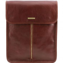 Leather shirt case Tuscany Leather TL141307