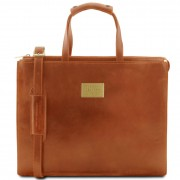 Women briefcase Tuscany Leather TL141343 Palermo