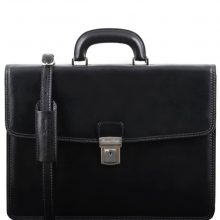 Leather briefcase Tuscany Leather TL141351 Amalfi