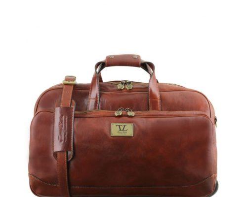 Travel bag Tuscany Leather TL141452 Samoa Small