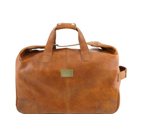 Дорожная кожаная сумка Tuscany Leather TL141537 Barbados
