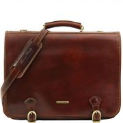 Briefcase Tuscany Leather TL10025 Ancona L