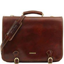 Briefcase Tuscany Leather TL10025 Ancona L