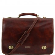 Briefcase Tuscany Leather TL10054 Siena