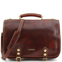Man briefcase Tuscany Leather TL10068 Capri