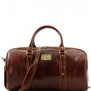 Дорожная кожаная сумка Tuscany Leather TL140935 Francoforte
