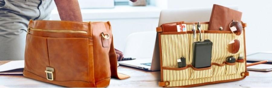 Купить кожаный портфель